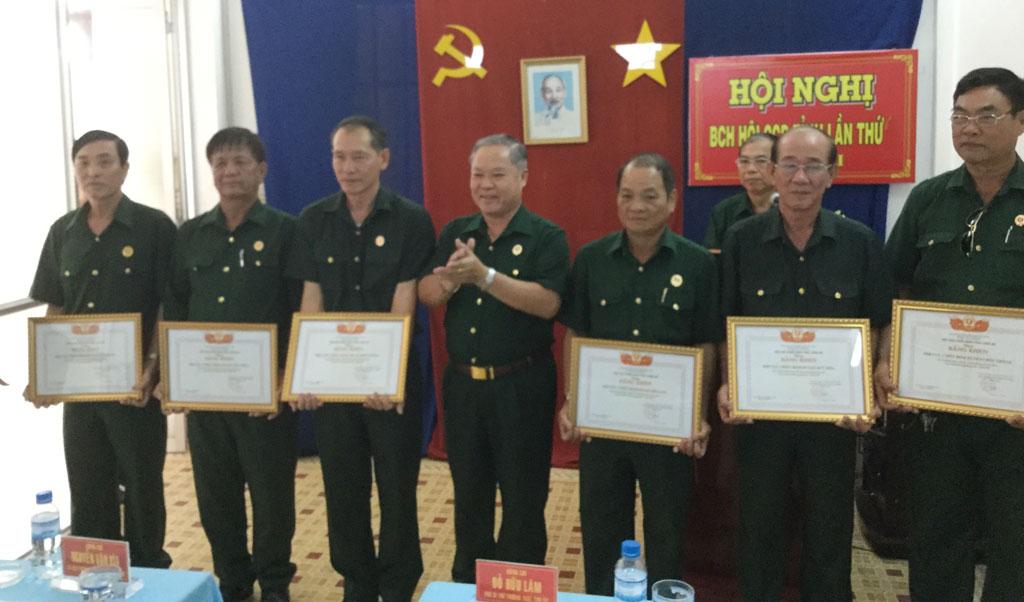 Trợ cấp 1 lần đối với các chức vụ trong Hội cựu chiến binh