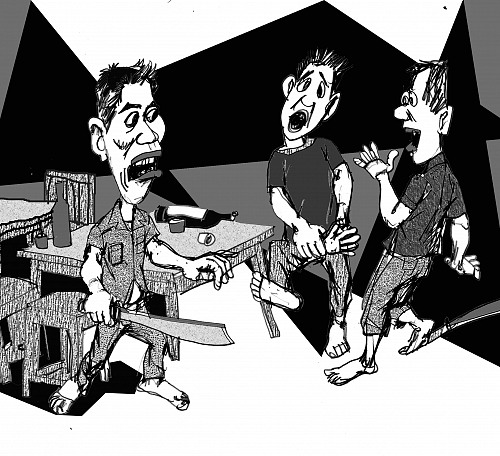 Đánh người tự ý xông vào nhà gây gổ có phải chịu trách nhiệm không?