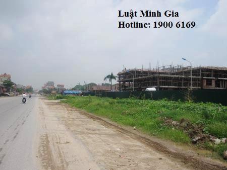 Xin giấy phép xây dựng trên dự án đất quy hoạch