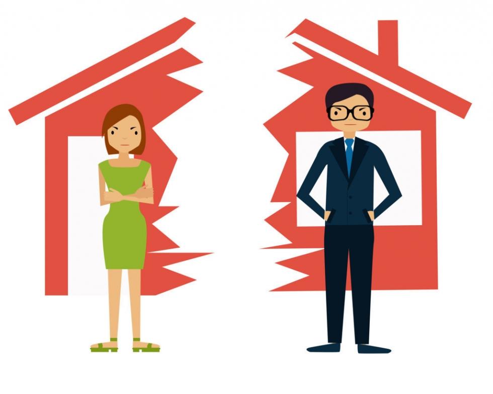 Chia tài sản chung bao gồm nhà và đất của hai vợ chồng sau khi ly hôn
