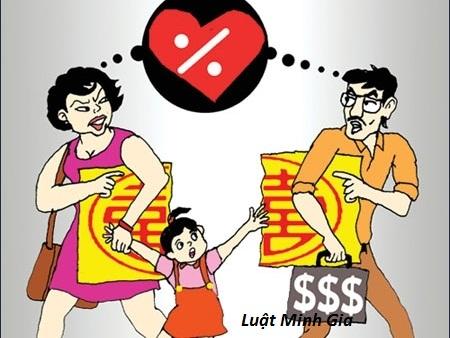 Nghĩa vụ trả nợ và tranh chấp quyền nuôi con của vợ chồng khi ly hôn? (ẩn)