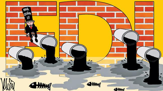 Xử phạt với hành vi xả thải ra môi trường