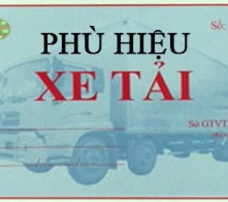 Xe tải tự chở hàng hóa của công ty có phải xin cấp phù hiệu xe?