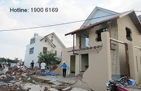 Xử phạt hành vi xây dựng nhà ở trên đất đã có quyết định thu hồi của Nhà nước.