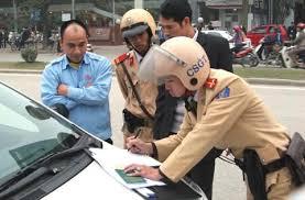 Mức xử phạt khi người điều khiển xe ô tô không mang theo Giấy đăng ký xe?