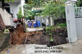 Chuyển nhượng quyền sử dụng đất nhưng phần đất thực tế đã bị sạt lở?