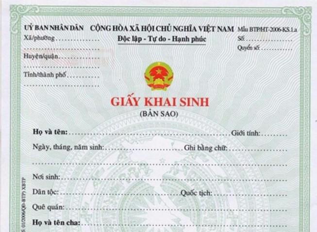 Người Việt Nam định cư ở nước ngoài muốn làm thủ tục trích lục giấy khai sinh cần những giấy tờ gì?