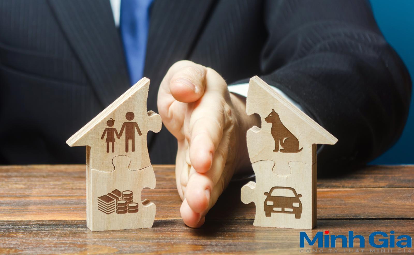 Thuận tình ly hôn có yếu tố nước ngoài chia tài sản thế nào?